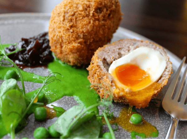 Scotch Eggs at The Copper Kitchen